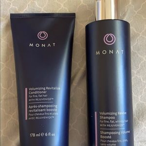 Volumizing revive shampoo, volumzing conditioner